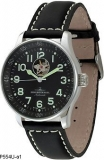 Hodinky Zeno-Watch Basel P554U-a1 X-Large Pilot Open Heart