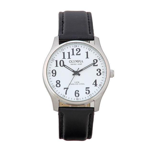 Pánské módní nerezové kovové hodinky Olympia 70100