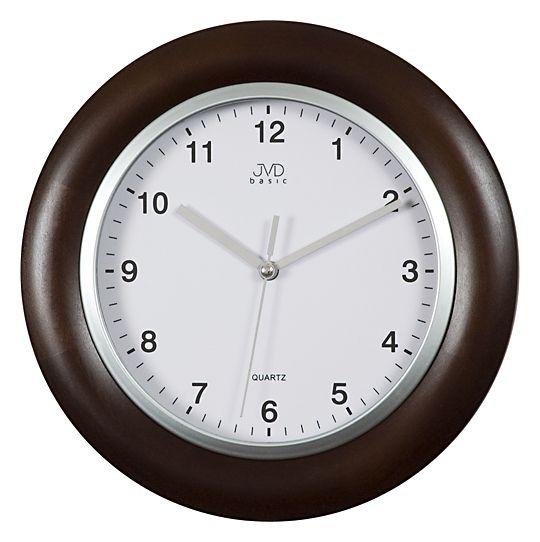 Dřevěné Nástěnné hodiny JVD basic N26065.23