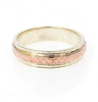Zlatý snubní prsten č. 59 - 585/5,00g ze žlutého a červeného zlata SN5-Soliter 5