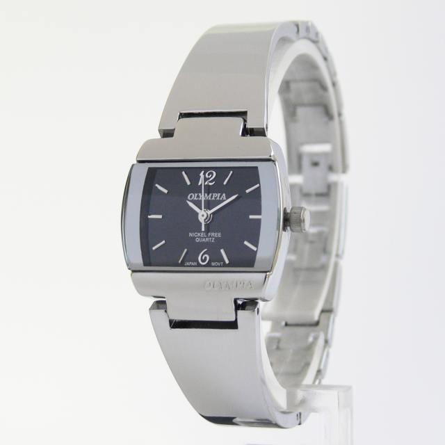 Společenské elegantní dámské kovové hodinky Olympia 30075