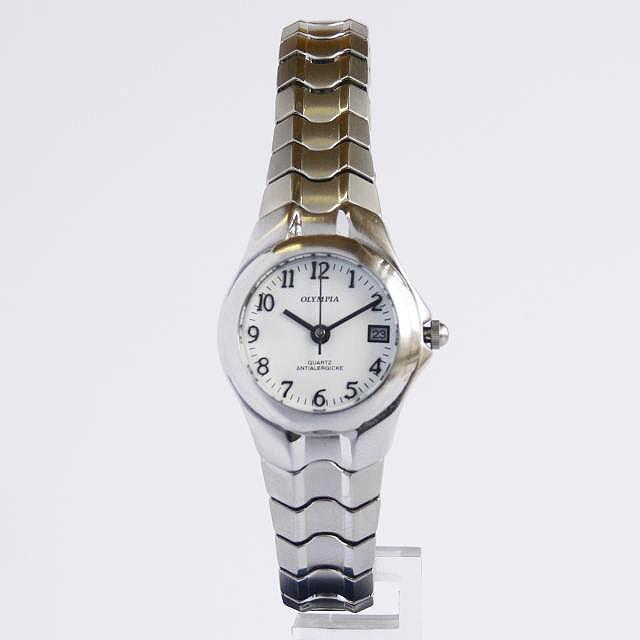 Společenské dámské ocelové elegantní hodinky Olympia 32005
