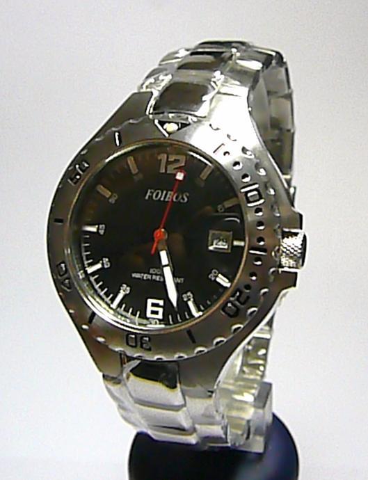 Pánské luxusní značkové vodotěsné ocelové hodinky Foibos 2840.2 10ATM