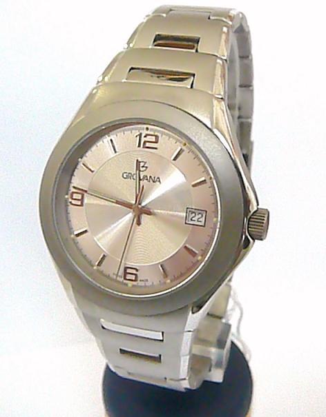 Titanové luxusní švýcarské pánské hodinky Grovana 1520.1  35685dc22a