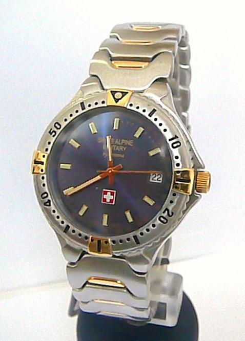 Luxusní švýcarské značkové vodotěsné hodinky Grovana 2073.1145 SAM