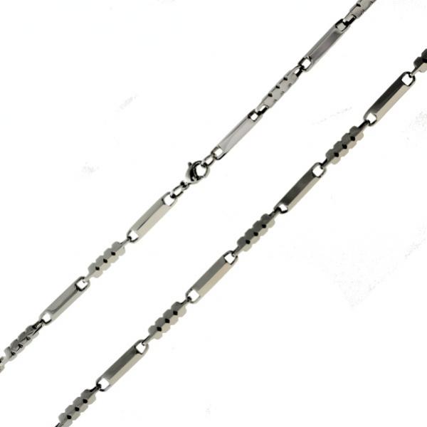 Moderní ocelový řetízek z chirurgické oceli 316 L 110 - 215110