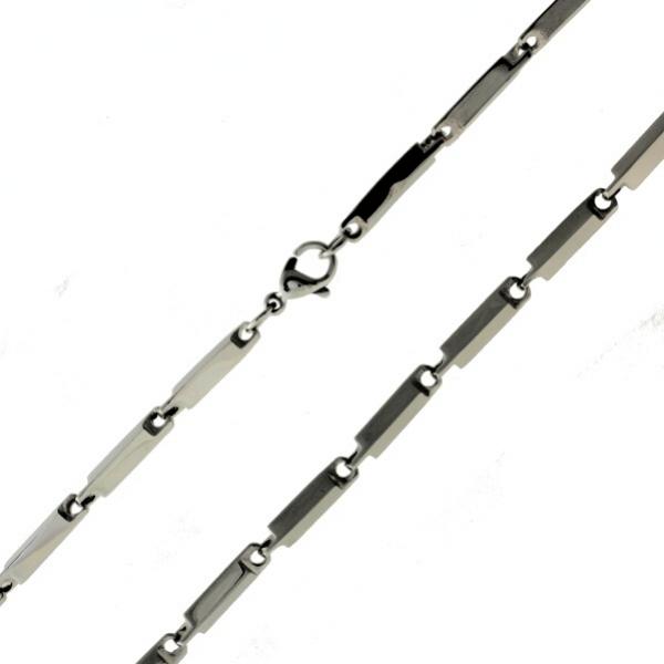 Moderní ocelový řetízek z chirurgické oceli 316 L 127 - 215127