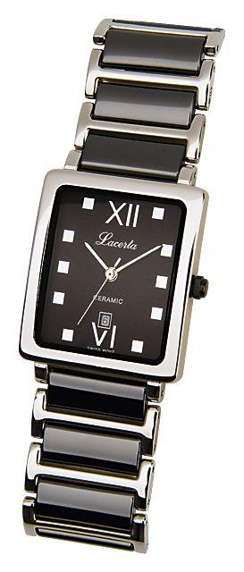 Dámské nerezové keramické hodinky LACERTA 775485K2
