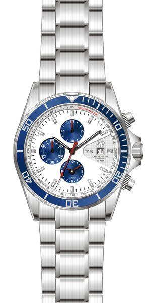 Pánské hodinky JVD steel J1014.2 - 20ATM - 200M - potápěčské hodinky