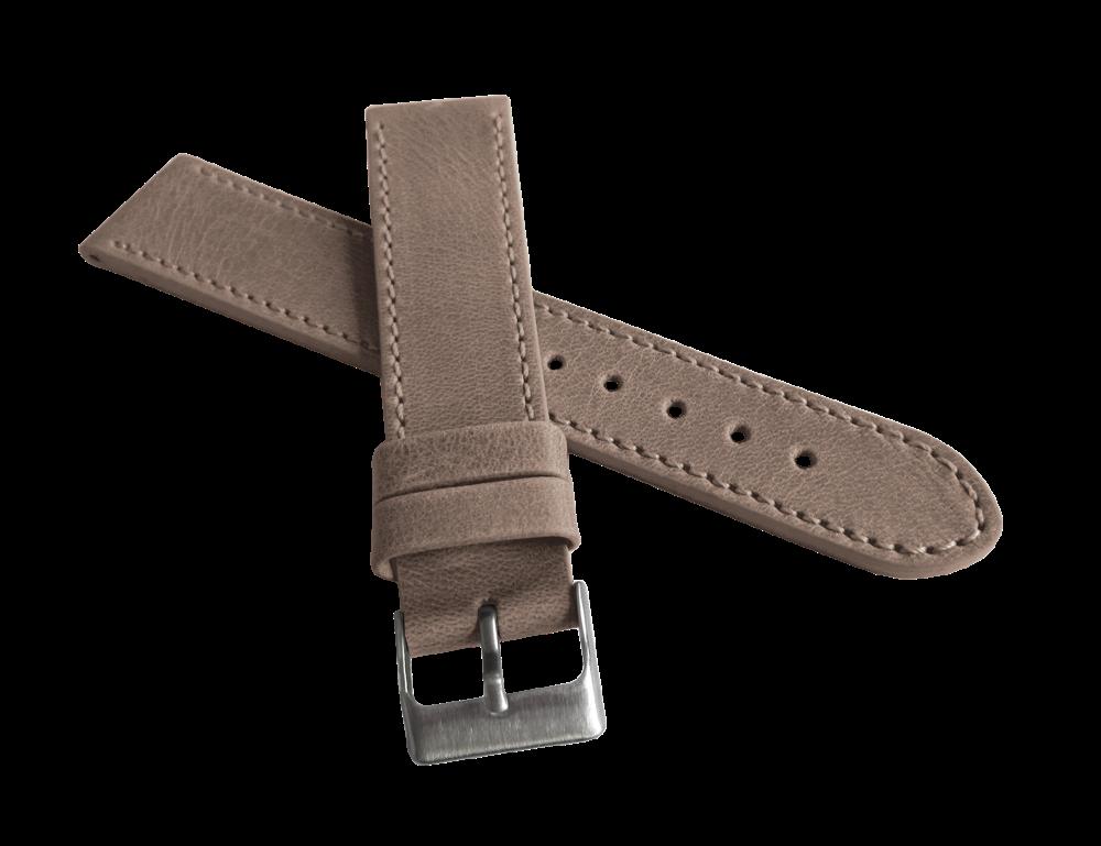 d920f98c0ff Béžový prošitý řemínek LAVVU SPORT z luxusní kůže Top Grain - 18mm LSAUF18 ( řemínek