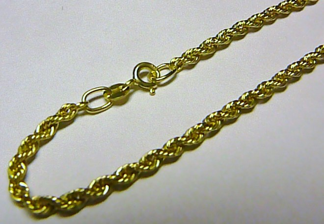Mohutný luxusní velký zlatý náramek (VALIS) 19cm 585/1,60gr T050 POŠTOVNÉ ZDARMA!