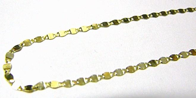 Mohutný luxusní zlatý řetízek ze žlutého zlata 585/1,20gr 42cm P584