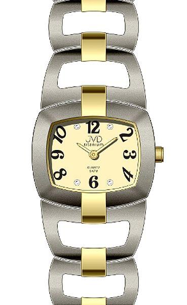 Dámské titanové voděodolné luxusní hodinky JVD titanium J5003.1 POŠTOVNÉ ZDARMA!