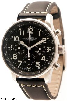 Hodinky Zeno-Watch Basel P559TH-3-a1 X-Large Pilot Chrono