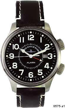 Hodinky Zeno -Watch Basel 8575-a1 Pilot Oversized Alarm Automatic