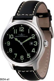 Hodinky Zeno - Watch Basel 8654-a1 Oversized Sapphire (Flat)