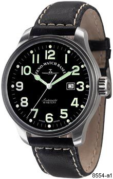 Hodinky Zeno-Watch Basel 8554-a1 Pilot Oversized Automatic