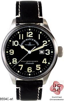 Hodinky Zeno-Watch Basel 8554C-a1 Pilot Oversized Chronometer
