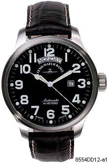 Hodinky Zeno-Watch Basel 8554DD-12-a1 Pilot Oversized Big Day