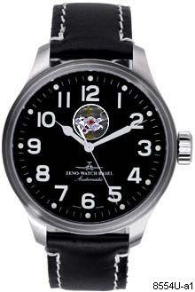 Hodinky Zeno-Watch Basel 8554U-a1 Pilot Oversized Open Heart (limited edition)