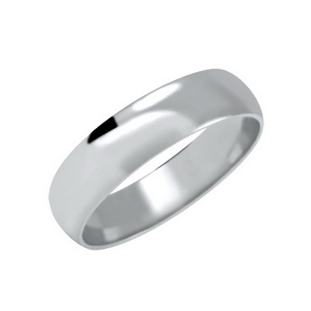 Zlatý snubní prsten č. 100 - 585/3,80g (žluté nebo bílé zlato)