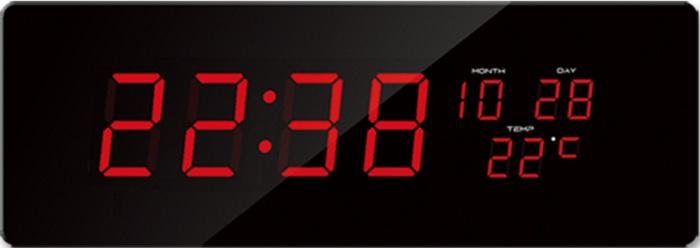 Velké svítící digitální moderní hodiny JVD DH2.2 s červenými číslicemi (SKLADEM !!! DOPRAVA ZDARMA)