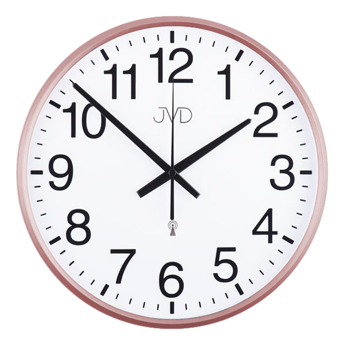 Rádiem řízené nástěnné hodiny JVD RH684.5