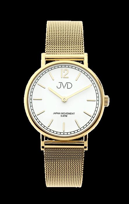 Dámské čitelné elegantní hodinky JVD J4164.3 - IPGold (POŠTOVNÉ ZDARMA!!)