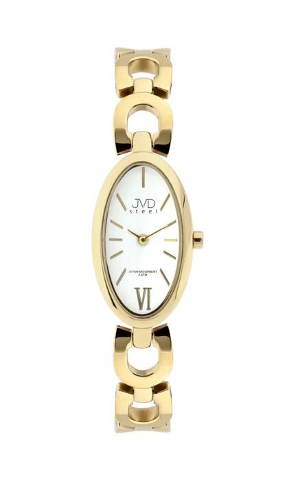 Dámské ocelové náramkové hodinky JVD steel J4085.3  56d2bd89f4
