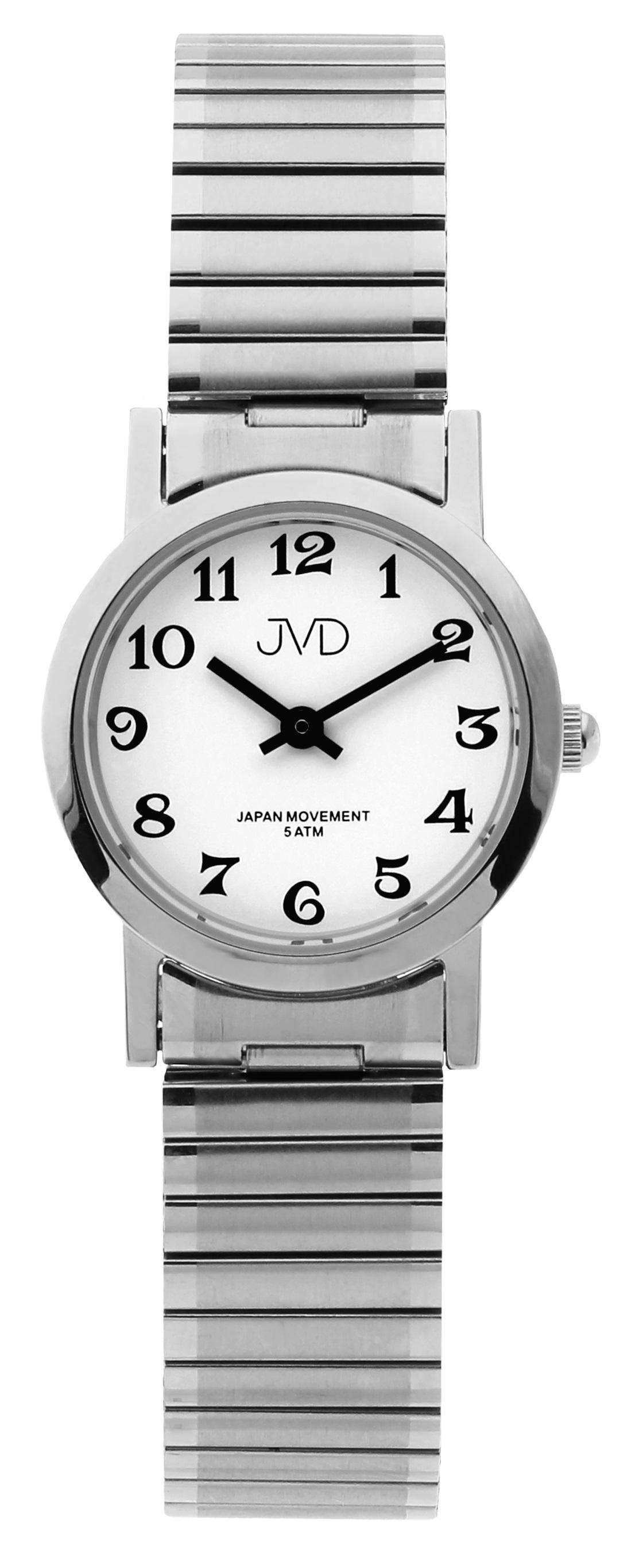 Dámské módní nerezové ocelové hodinky JVD steel J4061.1 s pérovacím páskem  (POŠTOVNÉ ZDARMA bf7b818852a