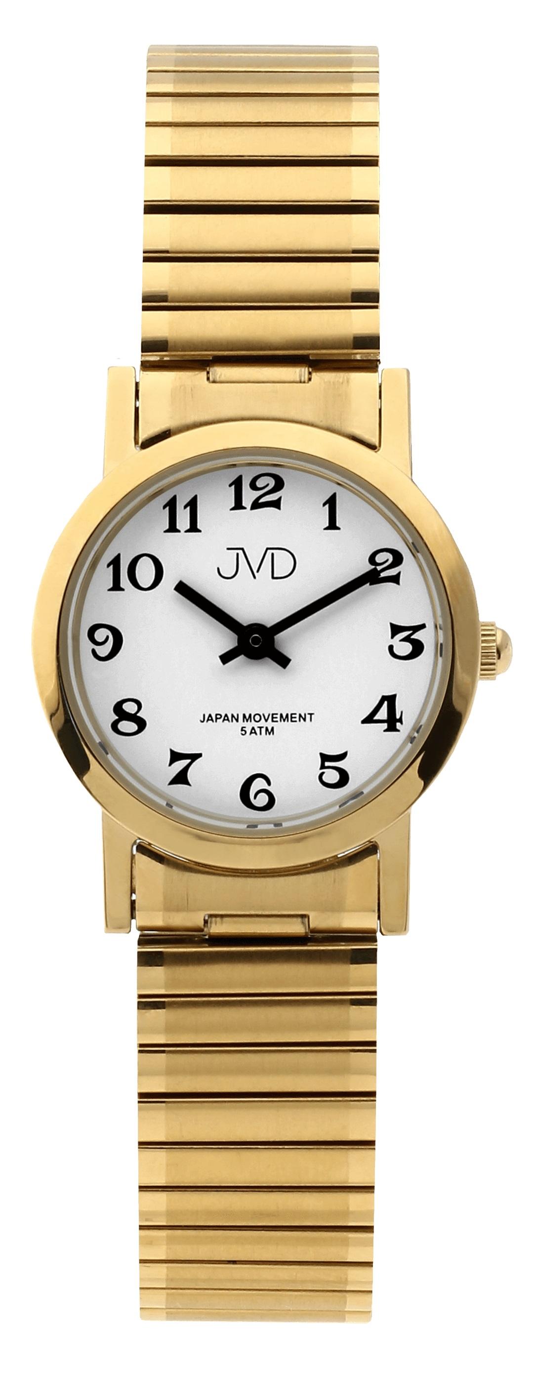 Dámské módní nerezové ocelové hodinky JVD steel J4061.2 s pérovacím páskem  (POŠTOVNÉ ZDARMA 458b5ef3af