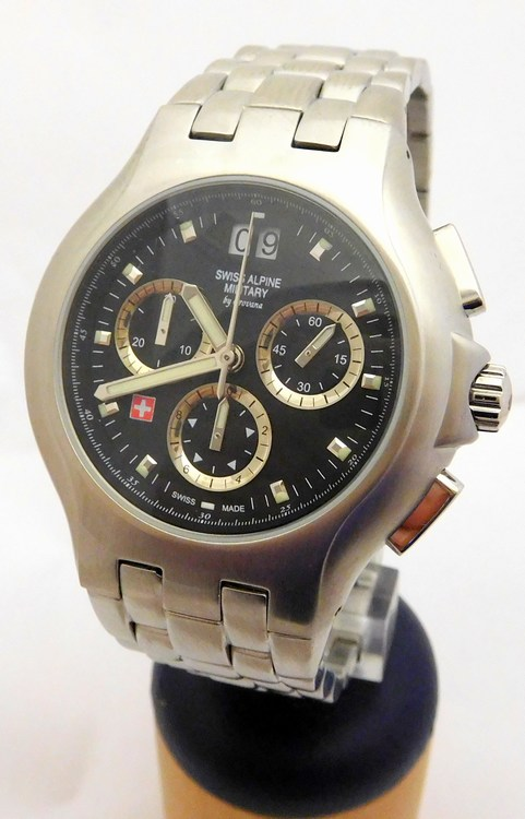 e3e2e4cfd7c Pánské švýcarské chronografy - hodinky Grovana Swiss Alpine Military  1502.9137 (POŠTOVNÉ ZDARMA!!)