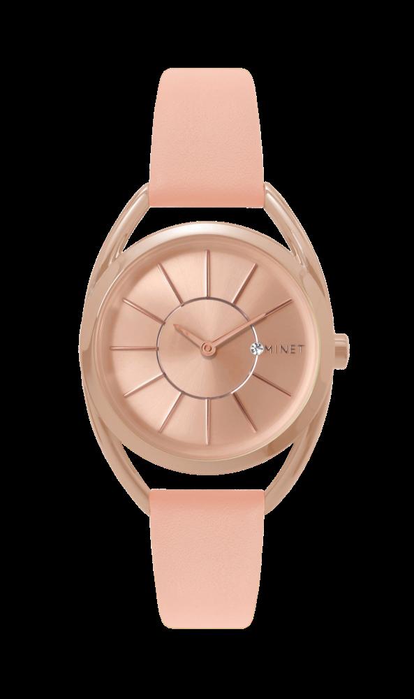 775a54949 Růžové dámské hodinky MINET ICON FOREVER AFTER MWL5025 | Klenoty ...