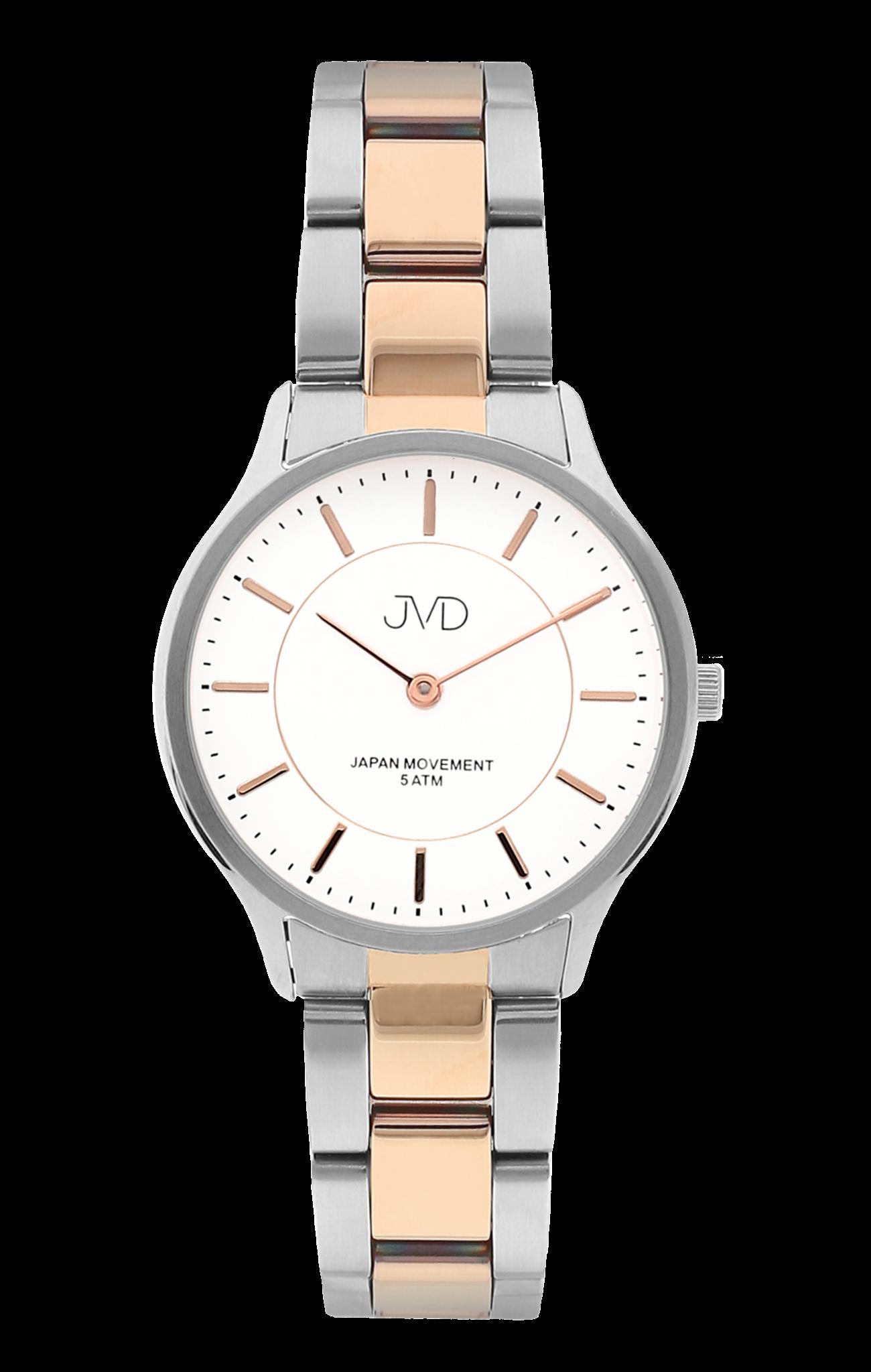 Dámské ocelové voděodolné náramkové hodinky JVD J4168.2 (POŠTOVNÉ ZDARMA!!)