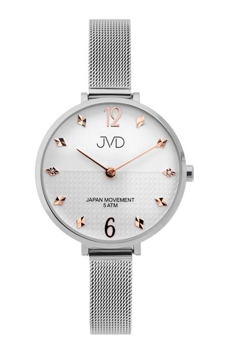 Dámské elegantní ocelové náramkové hodinky JVD J4169.2 (POŠTOVNÉ ZDARMA!!) 78cc07f968