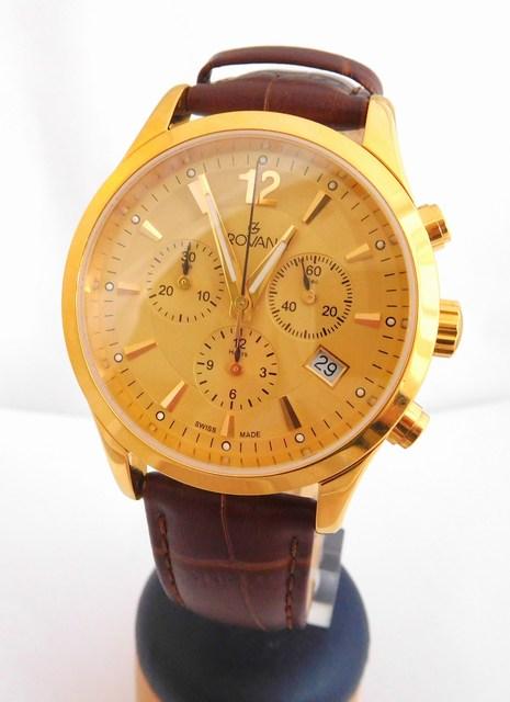 8831171df5a Pánské švýcarské luxusní hodinky Grovana 1209.9511 (chronograf) (POŠTOVNÉ  ZDARMA!! - ZLACENÉ