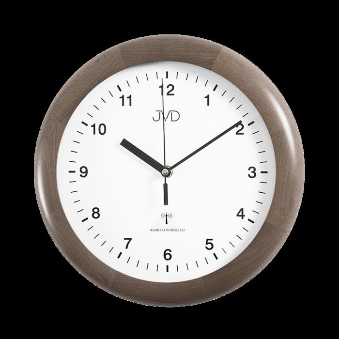 Rádiem řízené nástěnné hodiny JVD system RH2341/78