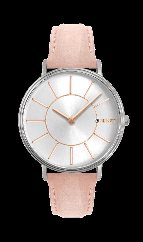 3d8cdc6fd53 Růžové dámské hodinky MINET BROADWAY SUGAR PINK MWL5033 (POŠTOVNÉ ZDARMA!! )