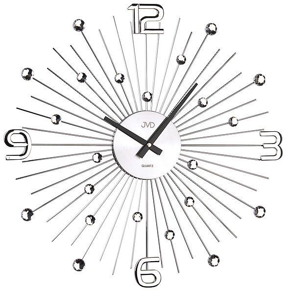 Luxusní moderní kovové nástěnné hodiny JVD HT074 (POŠTOVNÉ ZDARMA!!!)