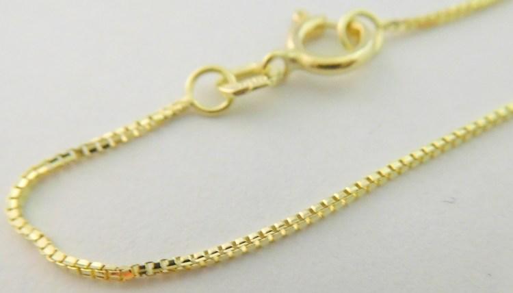e1b73f3cc Dámský dlouhý zlatý řetízek na přívěsek (Benátský) 55cm 585/1,80gr 3640112