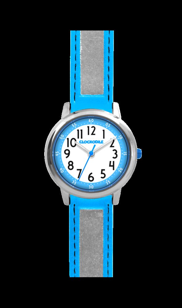 Modré reflexní dětské hodinky CLOCKODILE REFLEX CWX0010