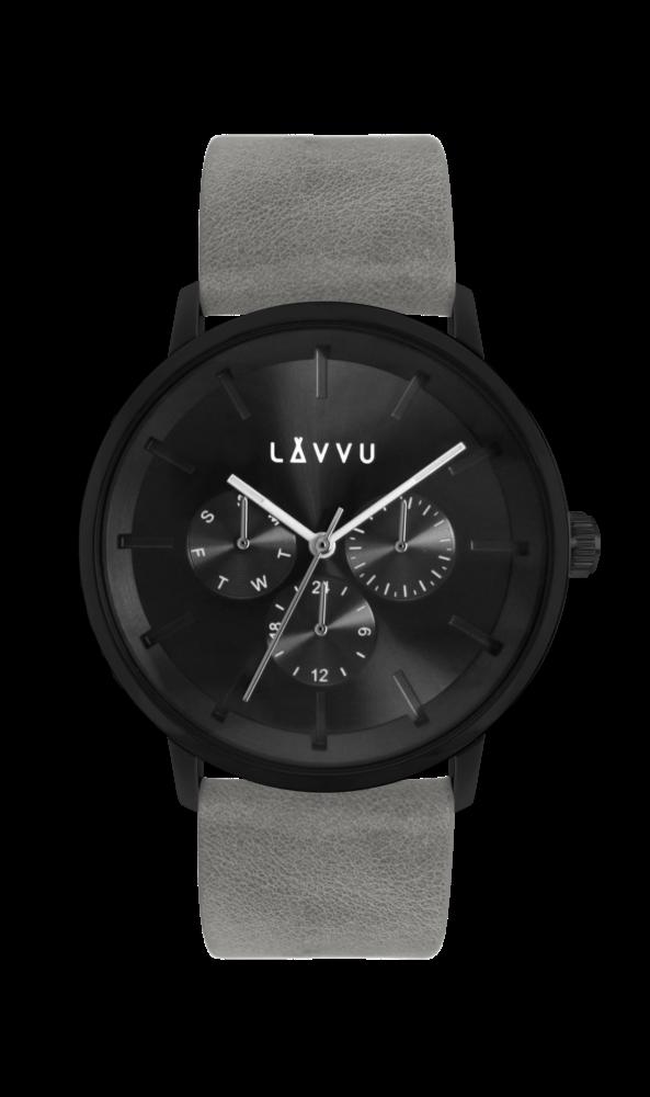 Šedé multifunkční hodinky LAVVU TROMSØ CONCRETE GREY LWM0063 (POŠTOVNÉ  ZDARMA!!!) a44d02e374