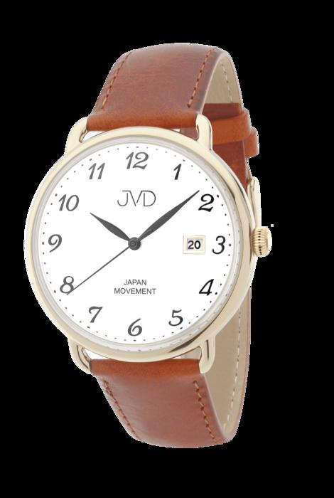 Pánské klasické módní hodinky JVD JC003.2 s řemínkem z pravé kůže (POŠTOVNÉ  ZDARMA f7296b19bf