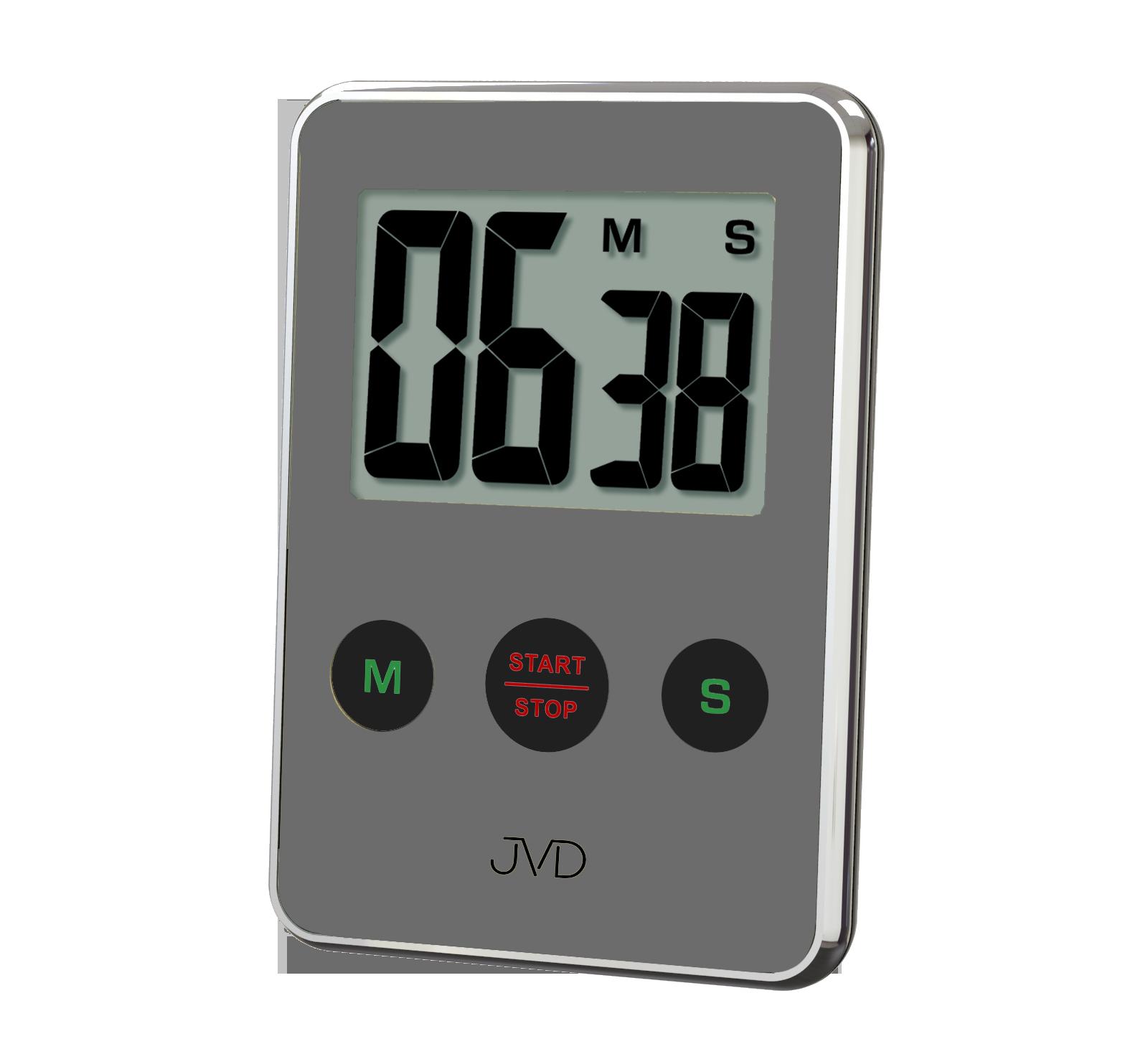 Designová digitální minutka JVD DM9206.4 s odpočtem času