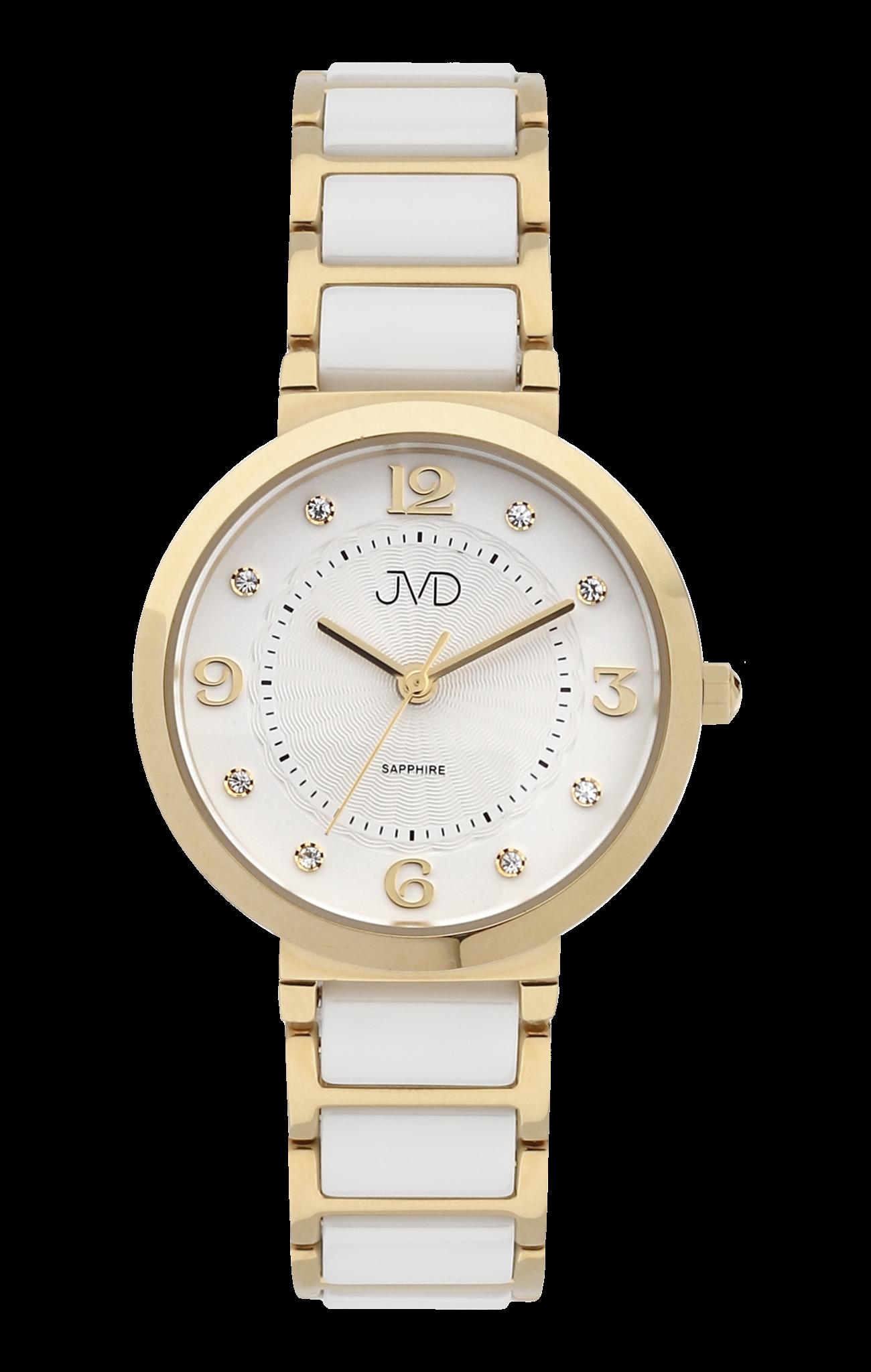 Dámské náramkové hodinky JVD JG1004.3 se safírovým sklem a keramickými  prvky (POŠTOVNÉ ZDARMA dd8112f85dd