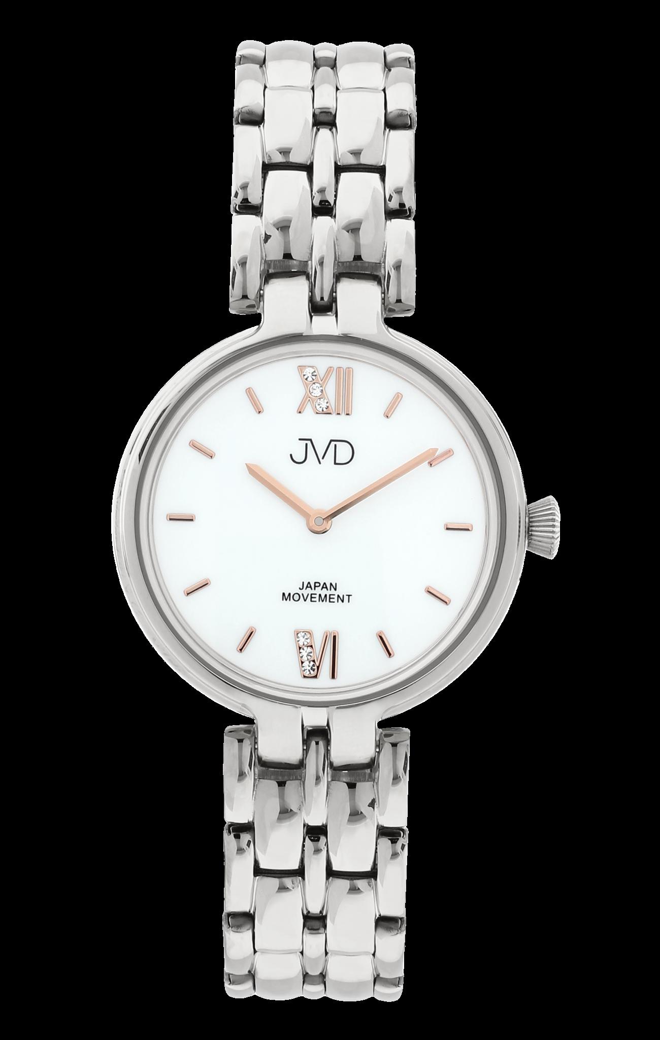 Dámské elegantní šperkové náramkové hodinky JVD JC001.1  68cd6282a2c