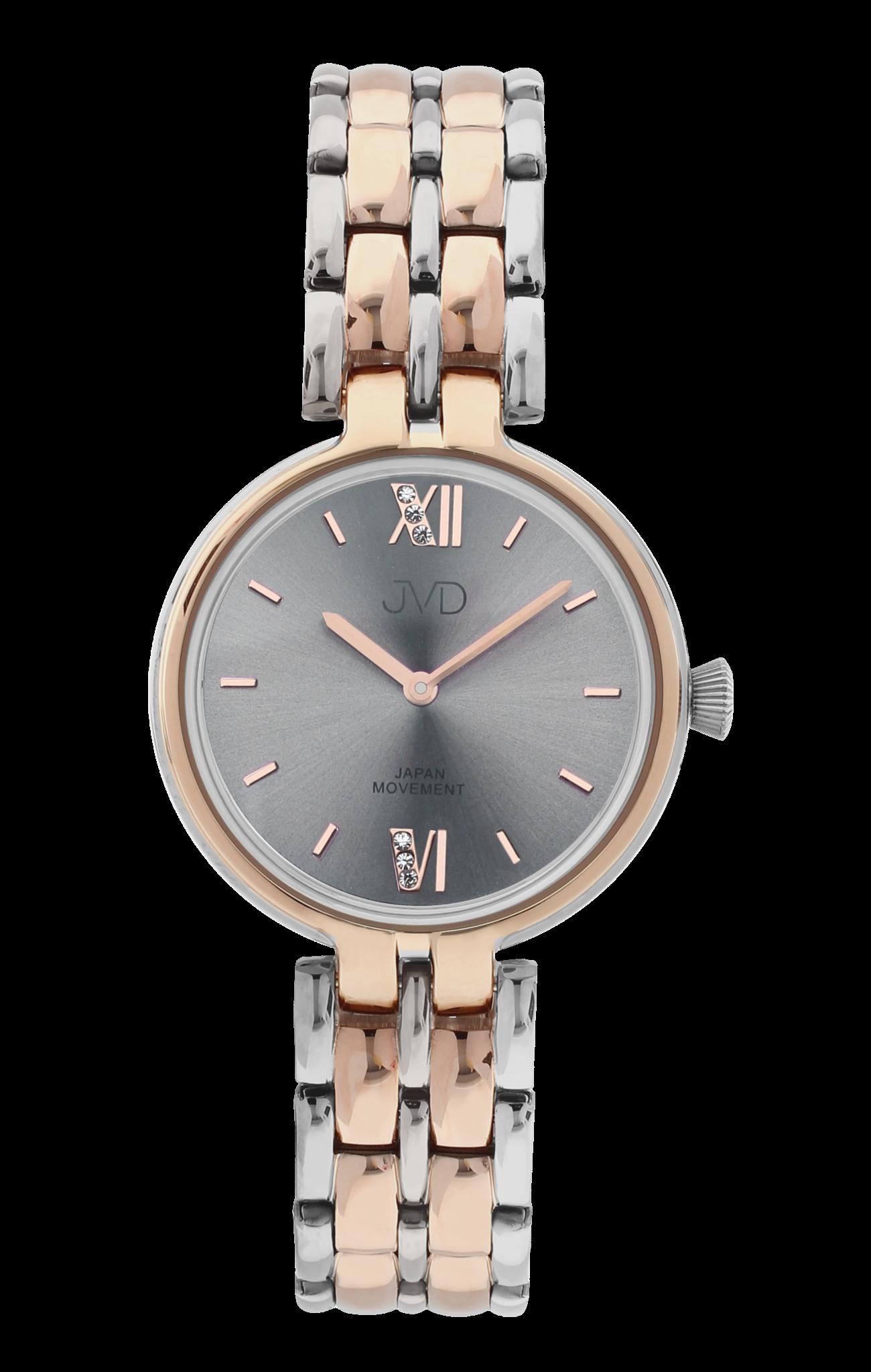 21976e8a1d2 Dámské elegantní šperkové náramkové hodinky JVD JC001.2