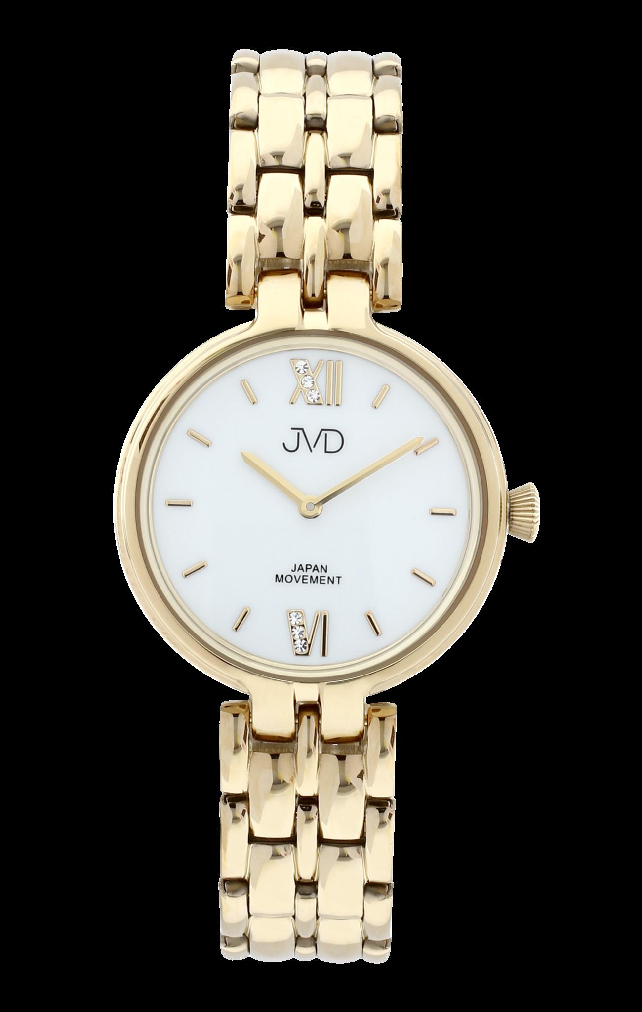 Dámské elegantní šperkové náramkové hodinky JVD JC001.3  9b648560cee