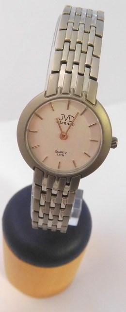 bc8b8483b Dámské titanové luxusní hodinky JVD titanium J5005.1 POSLEDNÍKUS NA  PRODEJNĚ VE STAŇKOVĚ (POŠTOVNÉ