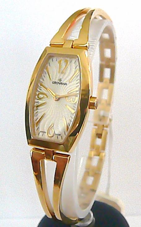 Dámské švýcarské luxusní hodinky Grovana se safírovým sklem 4536.1
